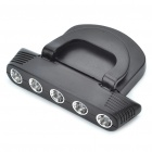 3W 2-Mode 5-LED White Light Cap / Hat Lamp (2 x CR2032)