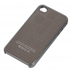 Protective Plastic Back Case for iPhone 4/4S - Black