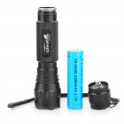 UltraFire WF-501B R2-WC 5-Mode 250LM Memory White LED Flashlight w/ Charger (1 x 18650/2 x 123A)