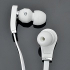 Designer's Cool In-Ear Stereo Earphone - White (3.5mm Jack/120cm-Cable)