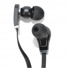 Designer's Cool In-Ear Stereo Earphone - Black (3.5mm Jack/120cm-Cable)