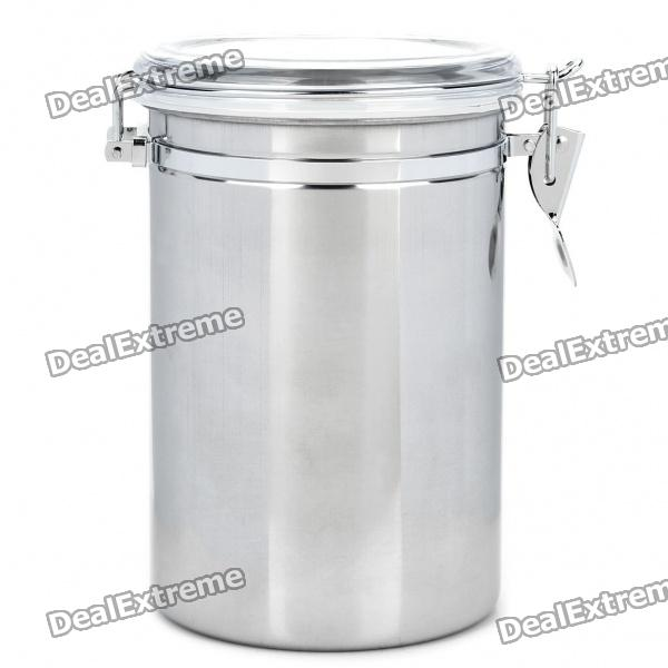 Bote hermético de acero inoxidable Fresh Food Storage Container - Plata (2000 ml)
