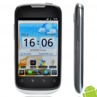 "Huawei U8650 3.5"" Capacitive Screen WCDMA Single SIM Android 2.3 Smartphone w/ GPS + Wifi - Black"