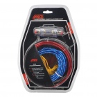 MJ-8 Professional Speaker RCA Cable Amplifier Installation Wiring Kit for Car