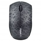 Rapoo Mini 5.8GHz Wireless Optical Mouse with USB Receiver - Black (1xAAA)