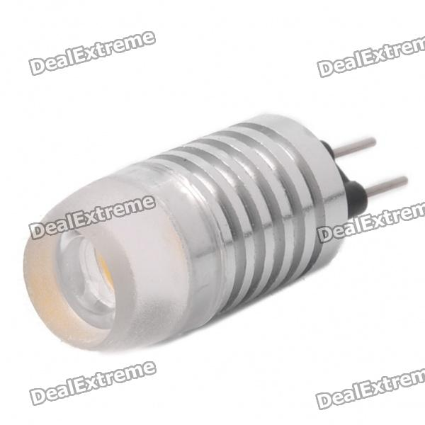 Bi-Pin 1.5W 5000mcd Decorative Light Yellow LED Light (DC 12V)