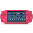 "4.3"" LCD Portable Game Console Media Player w/ 300KP Camera / FM / AV-Out / TF - Red (4GB)"