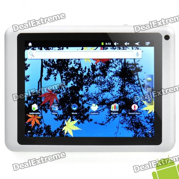 "8 ""емкостный экран Android 2.3 Tablet PC ж / двойная камера / WiFi / USB / TF / HDMI (RK2918 / 8 Гб)"