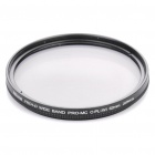 Nicna 62mm Slim Multi-Coated MC CPL Polarizing PL Filter - Black