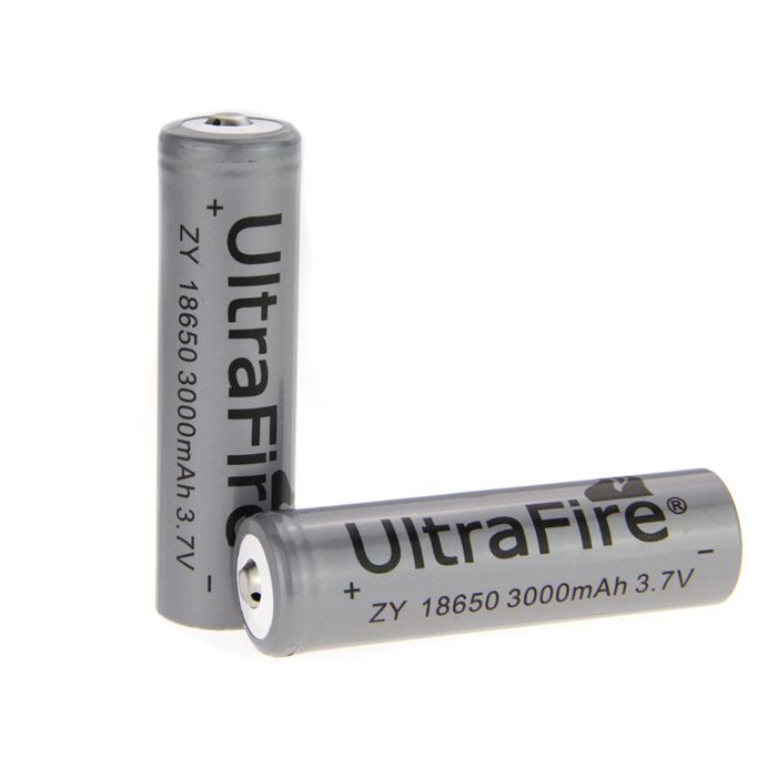 UltarFire Rechargeable 3.7V 3000mAh 18650 Batteries (Pair) аксессуар чехол sony xperia xa1 ultra brosco black xa1u 4side st black
