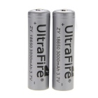 "UltarFire Rechargeable 3.7V ""3000mAh"" 18650 Batteries (Pair)"