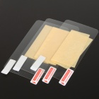 Glossy Screen Protectors/Guards with Cleaning Cloth for HTC EVO 3D (3-Pack)