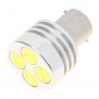 1156 4W 7000K 100-Lumen 4-LED White Light Car Tail Lamp (DC 12V)