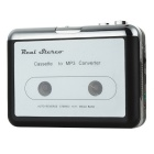 USB Stereo Cassette Capture Cassette to MP3 Converter (2 x AA)