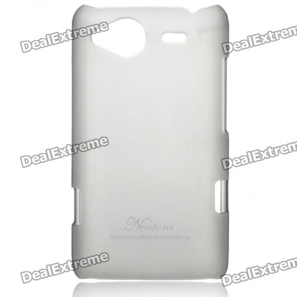 Protective Matte Frosted Back Case for HTC G15 - Grey