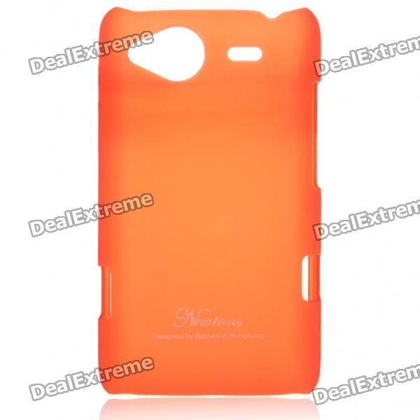 Protective Matte Frosted Back Case for HTC G15 - Red
