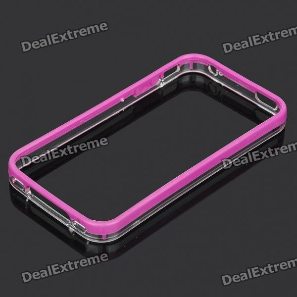 цена Protective Bumper Frame for Iphone 4S - Purple
