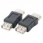 USB Female to Female Adapters Couplers (Pair)