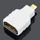 HDMI Female to Micro HDMI Male Adapter/Converter - White