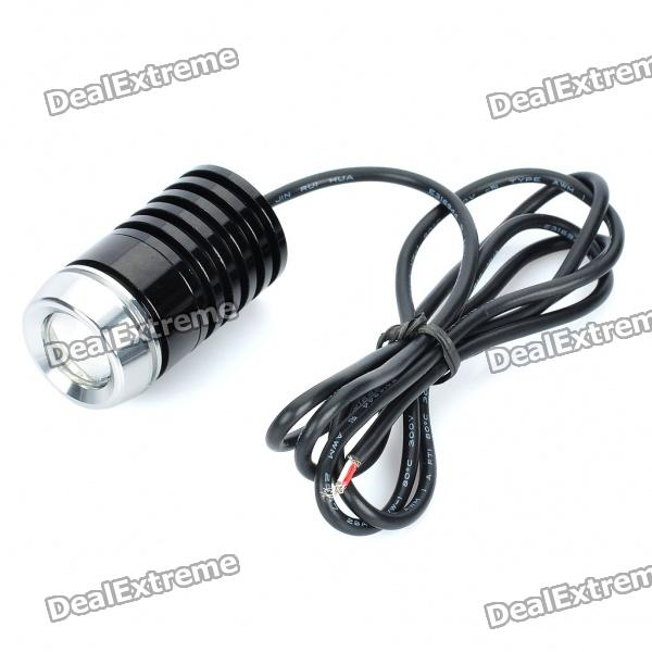 5W 6500K 300-Lumen Eagle Eye White LED Daytime Running Light for Car (12~16V)