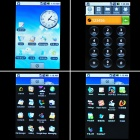 "HUAWEI U8220 3.5 ""Capactive LCD 3G WCDMA Android 1.5 Smartphone mit Wi-Fi + GPS-Schwarz"