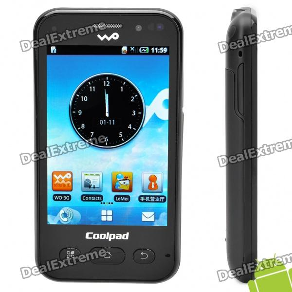 "CoolPad W713 3,5"" capacitif Android 2.1 écran 3 WCMDA Smartphone w / GPS + WiFi + FM"