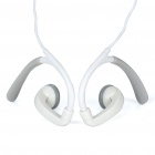 Designer's Ear-Hook Style Earphone - White (3.5mm Jack / 110CM-Cable)