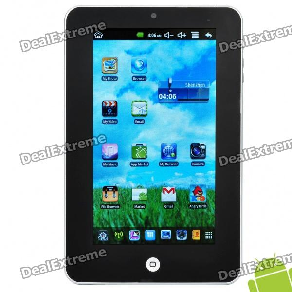 "7.0 ""резистивный Android 2.2 Tablet PC в / камера / TF (VIA WM8650 800/4 Гб)"