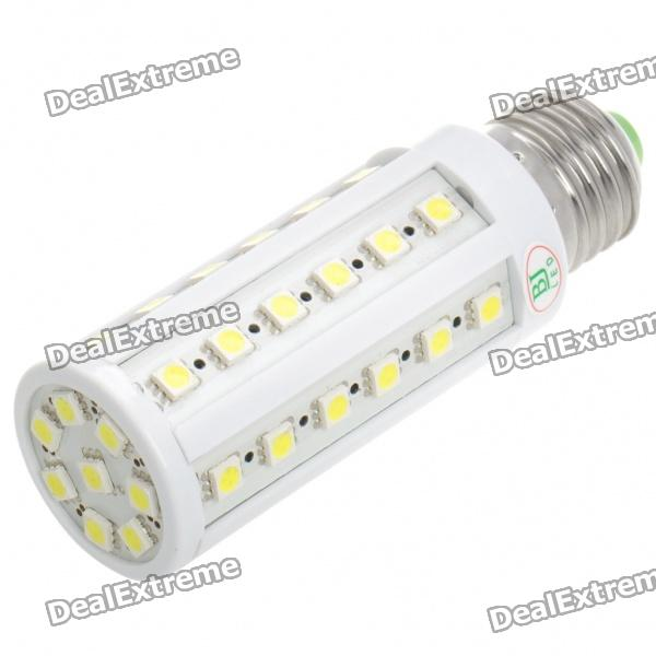 Фото E27 8W 6500K 616-Lumen 44x5050 LED White Light Bulb (AC 220V) hntd 8w ac 220v led work light explosion proof waterproof ip67 led panel cnc machine tools lighting td41 free shipping