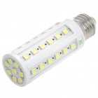 E27 8W 6500K 616-Lumen 44x5050 LED White Light Bulb (AC 220V)