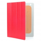 Stilvolle Protective PU Leather Case w / Smart Cover für iPad 2 - Red