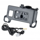ABS Bicycle Swivel Mount Holder + 3.5mm Earphone w/ Microphone for Samsung i9100 Galaxy S2