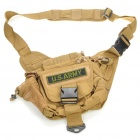 Military Tactical War Game Multi-Purpose Shoulder Bag - Coyote Tan