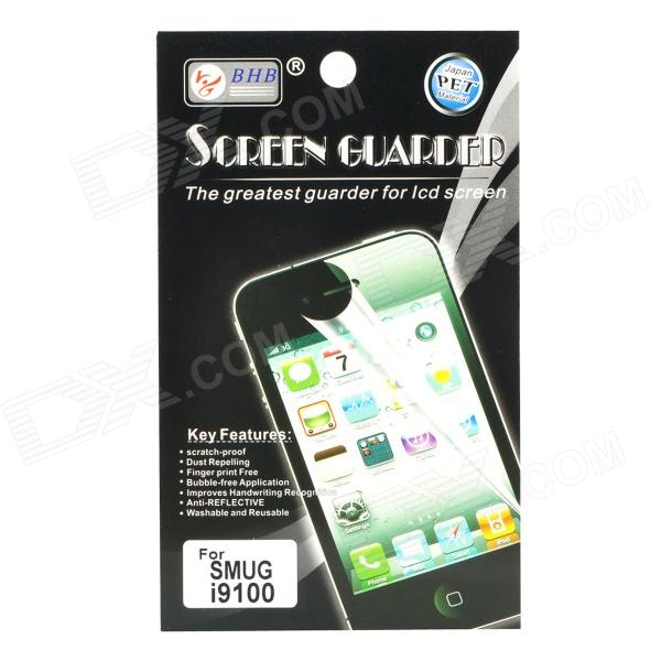 Screen Protector/Guards with Cleaning Cloth for Samsung i9100