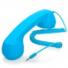 Radiation Protection Handset for iPhone/iPad - Blue (3.5mm Jack)