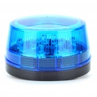 Safety Blue Flashing Warning Light for Motorcycle/Vehicle (12V)