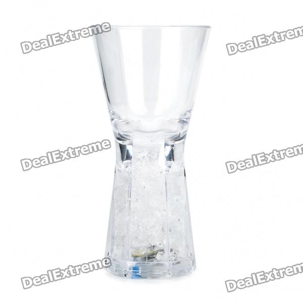 Mini 1-LED 3-Modus Blue Light Plastic Cup (1 x CR1620)