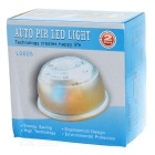 PIR Motion Activated 6-LED White Light - White (4 x AAA)