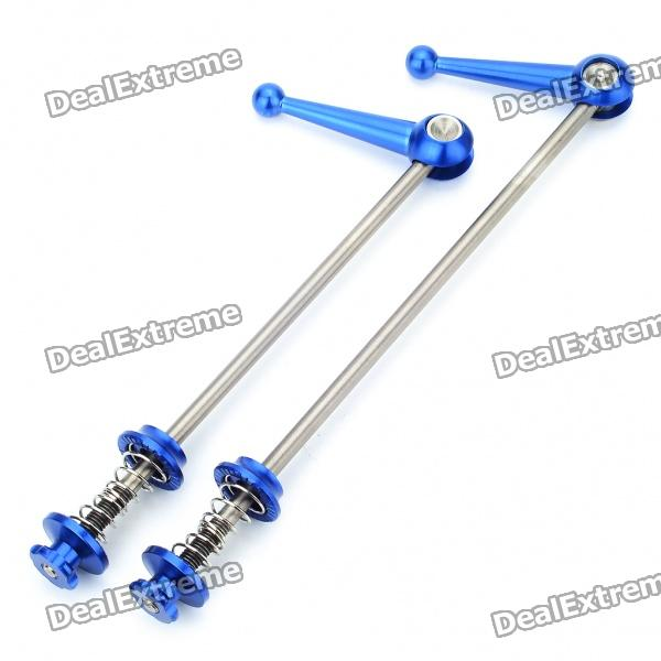 Bicycle Bike Titanium Lightest CNC Quick Release - Blue