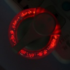 AC Powered 0.6W Red LED Night Lamp (110~240V)