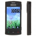 "N500 3.2"" Touch Screen Dual SIM Quadband TV Cellphone w/ JAVA + FM - Black"