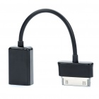 30-Pin to USB Female OTG Cable for Samsung P7310 / P7300 / P7510 / P7500 (7.5CM-Length)