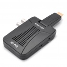 1080P HD Digital DVB-T Terrestrial Receiver Box with Remote Controller - Black