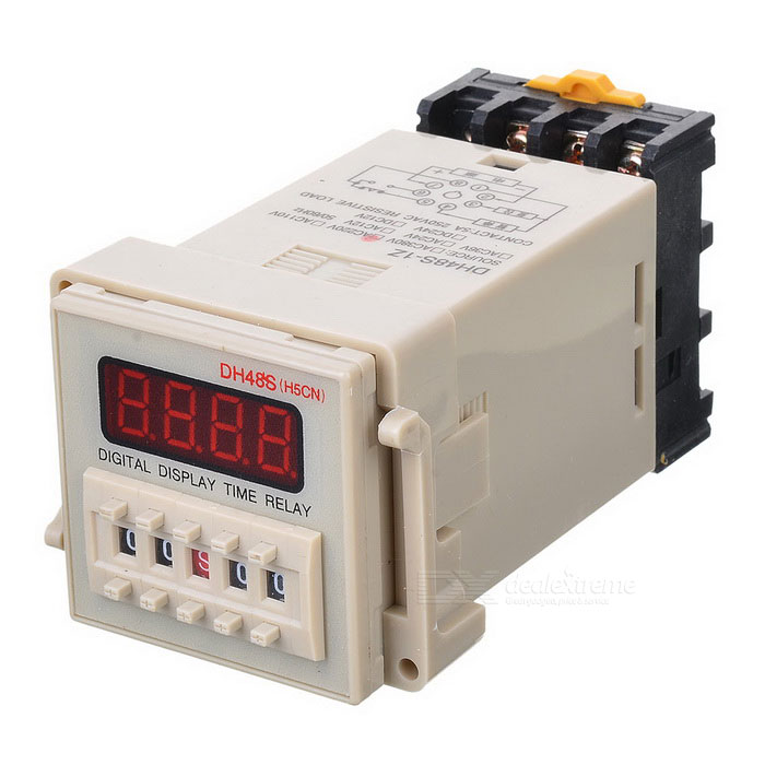 цена на 1.2 LED 4-Digit Digital Display Time Relay
