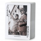 World War II Famous People Characters Paper Playing Cards Poker Set (54-Piece Pack)
