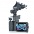 "1080P Dual Lens 2-CH Wide Angle Vehicle Car Digital DVR Camcorder w/ TF / Mini HDMI / IR (2.6"" LCD)"