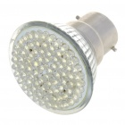 B22 5W 16.800 K 360-Lumen 80-LED White Light Bulb (AC 230V)