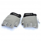 USB Heated Soft Warm Gloves - Grey (Pair)