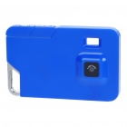Ultra-Thin-Karte Stil Rechargeable 2MP Digital Video Camcorder mit TF Slot - Blue