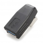 USB 3.0 Male to Female 90 Degree Adapter